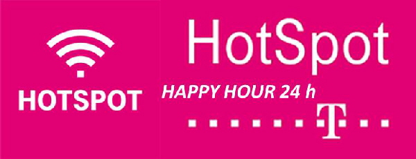 HotSpot Happy Hour 24 h