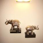 Dekoration auf der Hoteletage