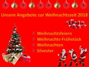 Unsere Angebote zur Weihnachtszeit 2018